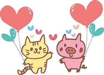 動物バレンタイン