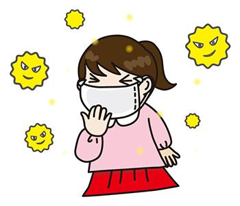 花粉症の子供