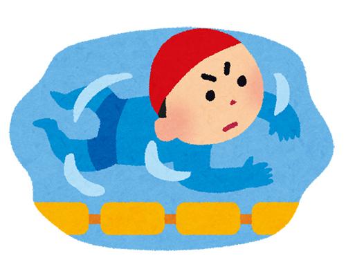 水泳イラスト