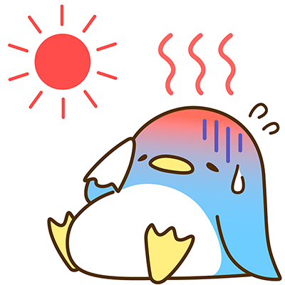 熱中症イラスト